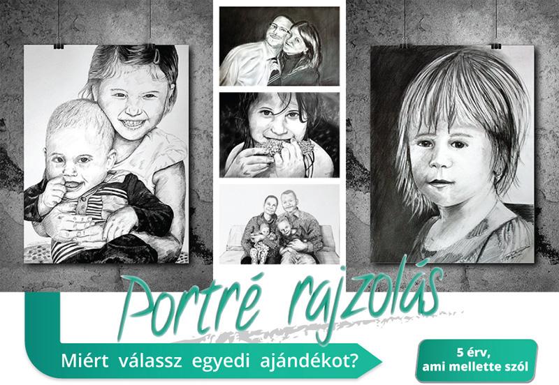Portrérajzolás fényképről, portrérajz ára, olajfestmény, grafika, portré, egyedi ajándék